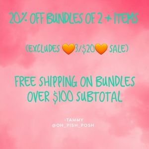 Bundle you likes for offer!